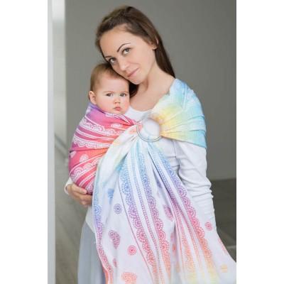 Ring sling Lenny Lamb Rainbow Lace