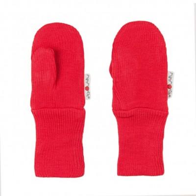Manymonths rukavice s palcom 16 Poppy Red