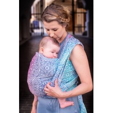 Šatka na nosenie detí Moisha Florentine Donau