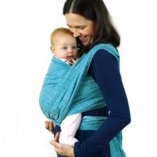 Šatka na nosenie detí Didymos Ada Ocean Tussah (Ada Ocean Silk)