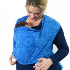 Didymos Ornament Kornblumenblau (Ornament Cornflower)