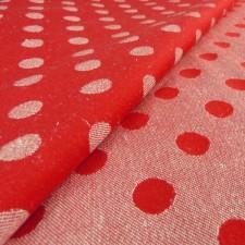 Didymos Rote Punkte Hanf (Red Dots Hemp)