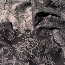 Didymos Zauberwald monochrom Leinen (Magic Forest Monochrome Linen)