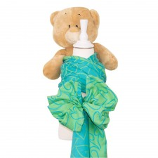 Doll Wrap Fidella Amors Love Arrows green (na bábiky)