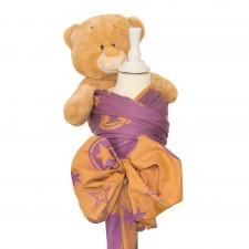 Doll Wrap Fidella Outer Space lilac (na bábiky)