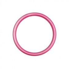RS krúžky M ružové