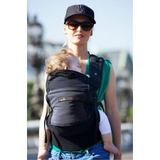 JPMBB Physio Carrier (Black/Black/Charcoal grey)
