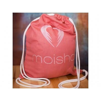 Moisha šatkový batôžtek tehlový