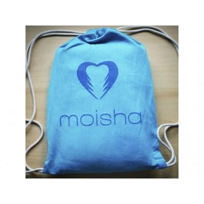 Moisha šatkový batôžtek tyrkys / modrý