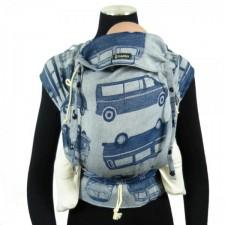 Ergonomický nosič DidyKlick Bulli Nachtblau (Van Parade night blue)