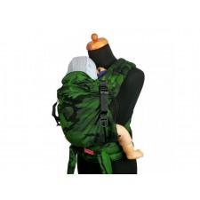 Ergonomický novorodenecký nosič Moisha HuGo Green Cammo