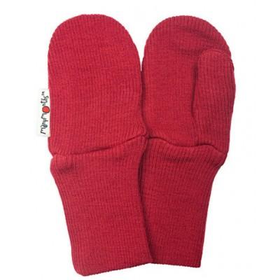 Manymonths rukavice s palcom Raspberry Red (červená)