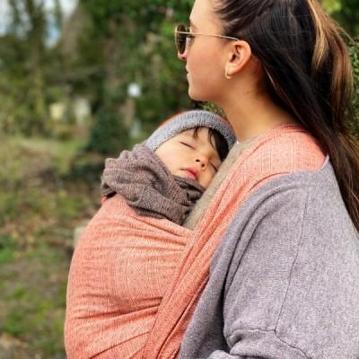 Šatka na nosenie detí Didymos Prima Blush