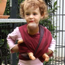 Šatka na bábiky DIDYMOS Doubleface Jack
