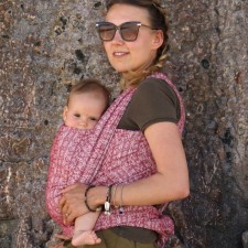 Šatka na nosenie detí Didymos Ada Karmin (Didymos Ada Carmin)