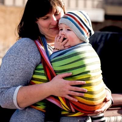 Šatka na nosenie detí Didymos Prisma