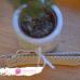 Kľúčenka zo šatky Didymos Lisca Pastell
