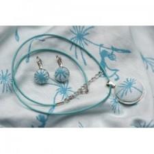Set náhrdelník a náušničky Kaya Dandelions