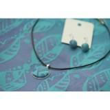 Set náhrdelník a náušničky Kaya Feathers