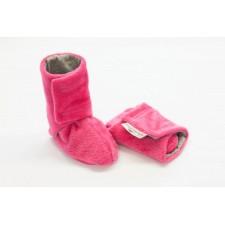 Detské čižmičky Angel wings ružové