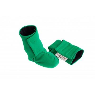 Detské čižmičky Angel wings zelené
