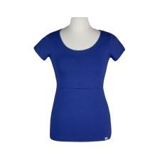 Tričko na dojčenie Angel wings kobaltovo modré