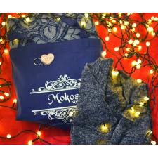 Tkaná šatka Mokosh Fire Blueberries veľ. 7 + dámske bolerko Angel wings sivé veľ. S/M