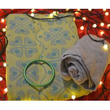 Šatka Nona Naomi Ruan Auréli veľ. 4 + zelený RS krúžok + deka