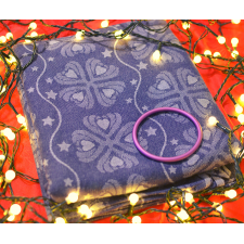 Šatka Nona Naomi Taegan veľ. 3 + fialový RS krúžok