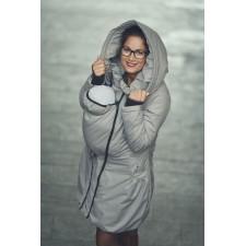Zimný kabát Angel wings - béžový
